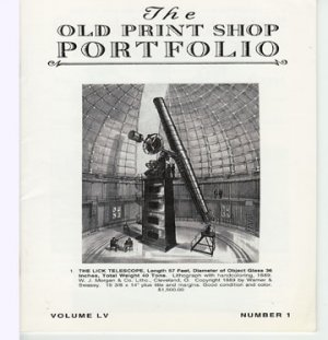 The Old Print Shop Portfolio Volume  LV Number 1 Political Caricature Hugo Gellert Catalog Softcover