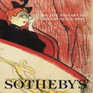 Sotheby&#39;s The Life and Art of Toulouse-Lautrec Herbert Schimmel Collection Auction Catalog 2001
