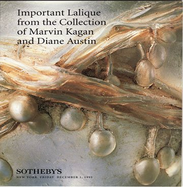 Sotheby's Important Lalique from the Collection of Marvin Kagan and Diane Austin Auction Catalog1995