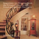 Sotheby&#39;s Important Art Nouveau Private Collection of  Lloyd Macklowe Auction Catalog 1995