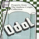 Sotheby's Property from The Andrew Crispo Collection Contemporary Art Auction Catalog1997