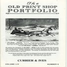 The Old Print Shop Portfolio Volume LIV Number 5 Currier & Ives Prints Catalog Softcover