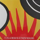 Calder&#39;s Universe by Jean Lipman Alexander Calder Whitney Museum of American Art 1989 Hardcover