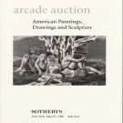Sotheby's Arcade American Paintings Drawings and Sculpture Auction Catalog 1998
