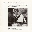 Sotheby's Arcade American Paintings Drawings and Sculpture Auction Catalog October 1996