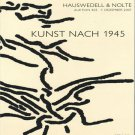 Kunst Nach 1945 Auction Catalog Contemporary Art Since 1945 December 2007 Softcover