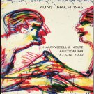 Kunst Nach 1945 Auction Catalog Contemporary Art Since 1945 Private Collections June 2000 Softcover