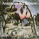 AMERICAN ART REVIEW January February 2013  Reiffel Haley Rothko Magazine Back Issue