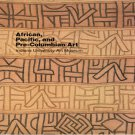 African Pacific and Pre-Columbian Art Indiana University Art Museum Collections Softcover 1986