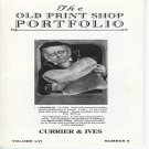 The Old Print Shop Portfolio Currier & Ives Volume LVI  Number 6  Lithographs Softcover
