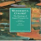 Wonderful Colors The Paintings of August Francois Gay  Exhibition Catalog 1993 Softcover