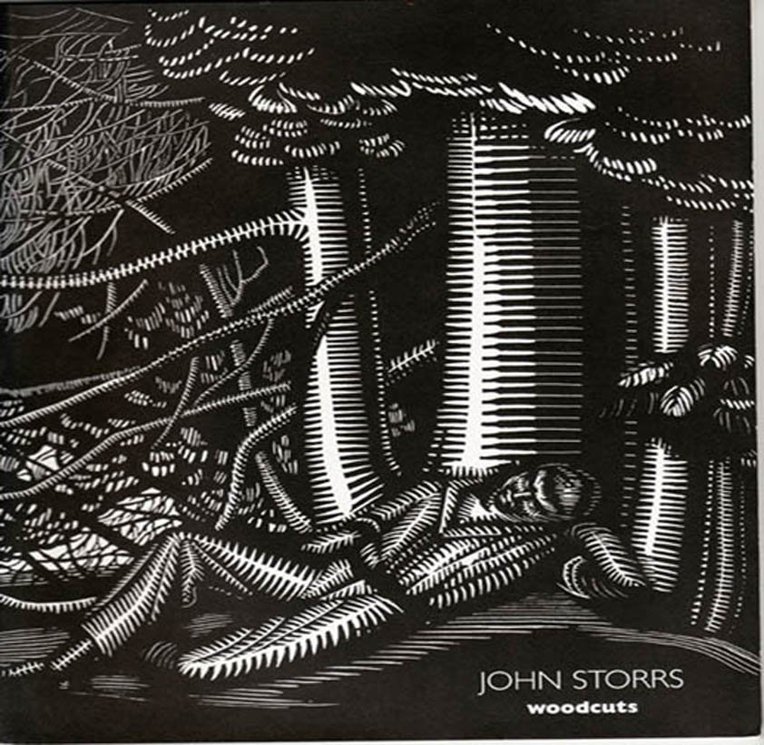 John Storrs Woodcuts  Essay by Daniel Schulman Exhibition Catalog 2005 Softcover