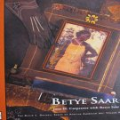 Betye Saar by Jane H. Carpenter African American Art Series Volume II Art Book Hardcover 2003