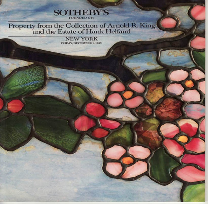Sotheby's Property from the Collection of Arnold R. King  Auction Catalog December 1989