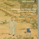 Bonhams Chinese Art From The Scholar's Studio September 2013  Auction Catalog Number 1793