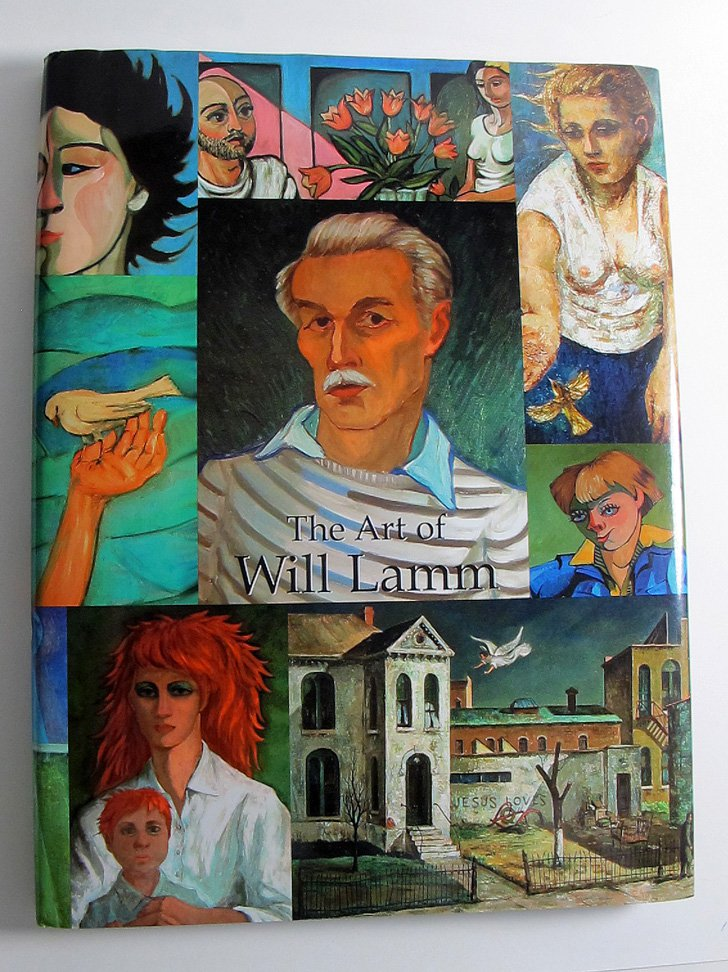 The Art of Will Lamm Oil on Canvas Color Reproductions and Sculptures Hardcover 2003