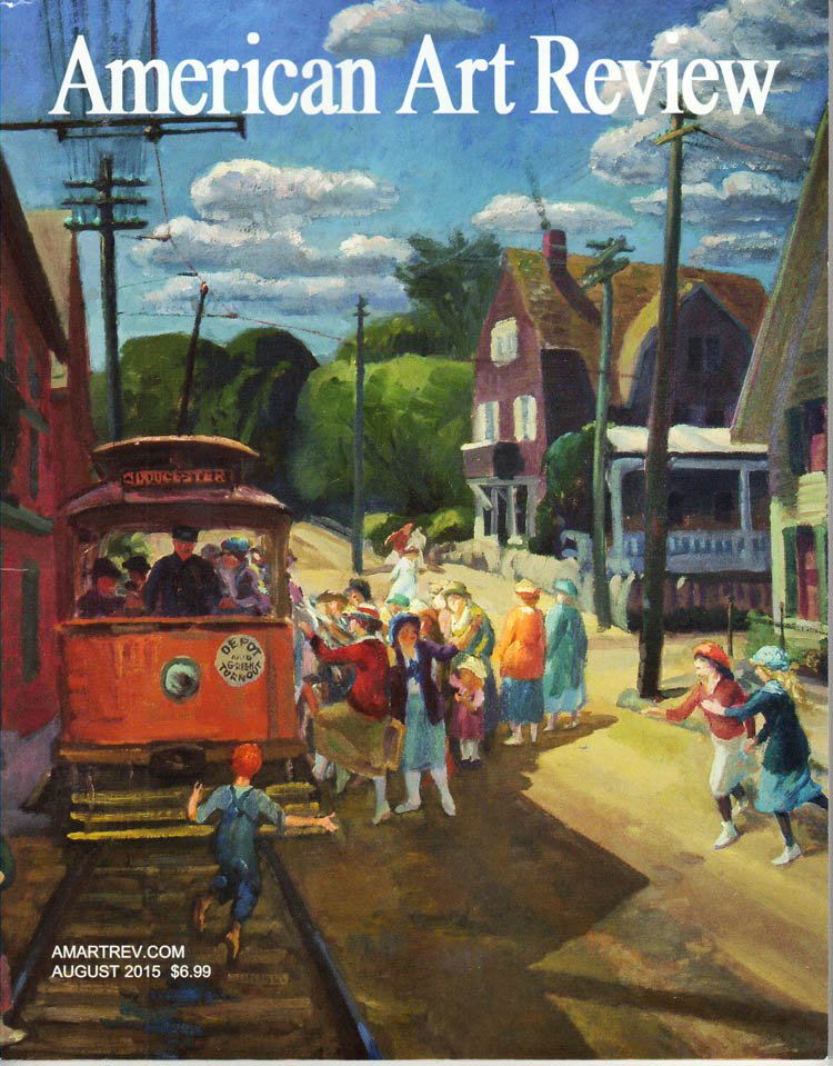 AMERICAN ART REVIEW John Sloan Thomas Hart Benton July August 2015 Art Magazine Back Issue