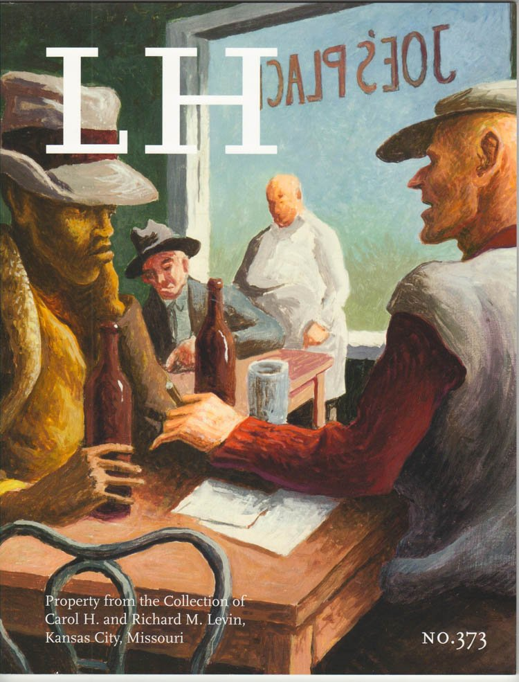Leslie Hindman  Auction Catalog American Art Private Collection Thomas Hart Benton May 20, 2015