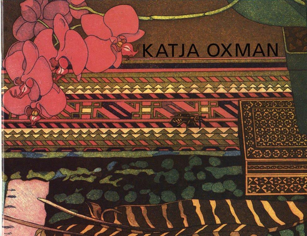 Katja Oxman Aquatints Softcover catalog Printmaking Visual Art 2000