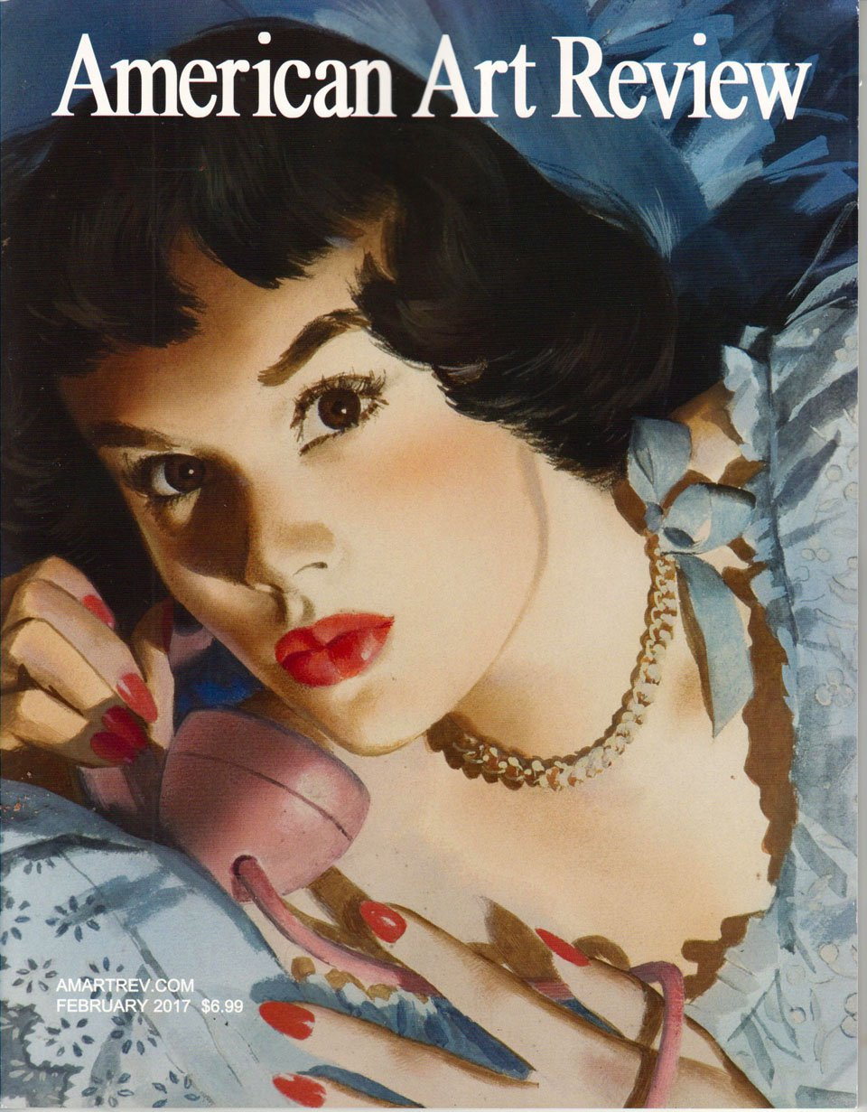 AMERICAN ART REVIEW Bradley Walker Tomlin January February 2017 Art Magazine Back Issue