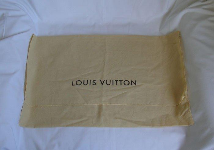 """AUTHENTIC Louis Vuitton Cotton Dust Bag 21.7"""" x 13"""""""