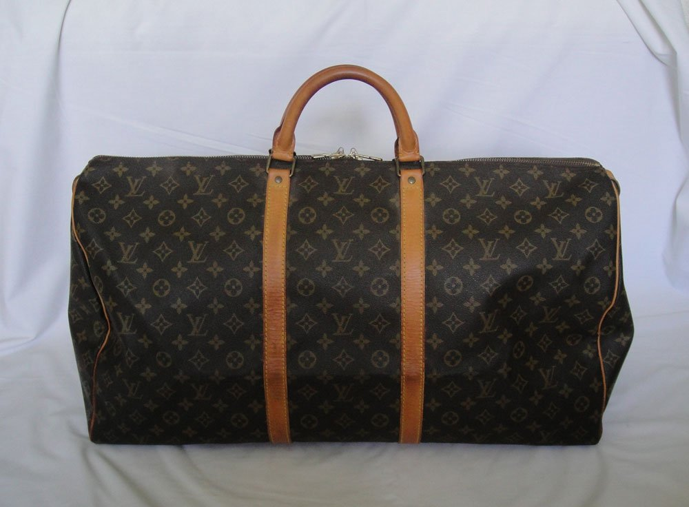 AUTHENTIC Pre Owned Louis Vuitton Monogram KEEPALL 60