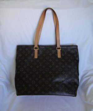 AUTHENTIC Pre Owned Louis Vuitton Monogram Cabas Mezzo