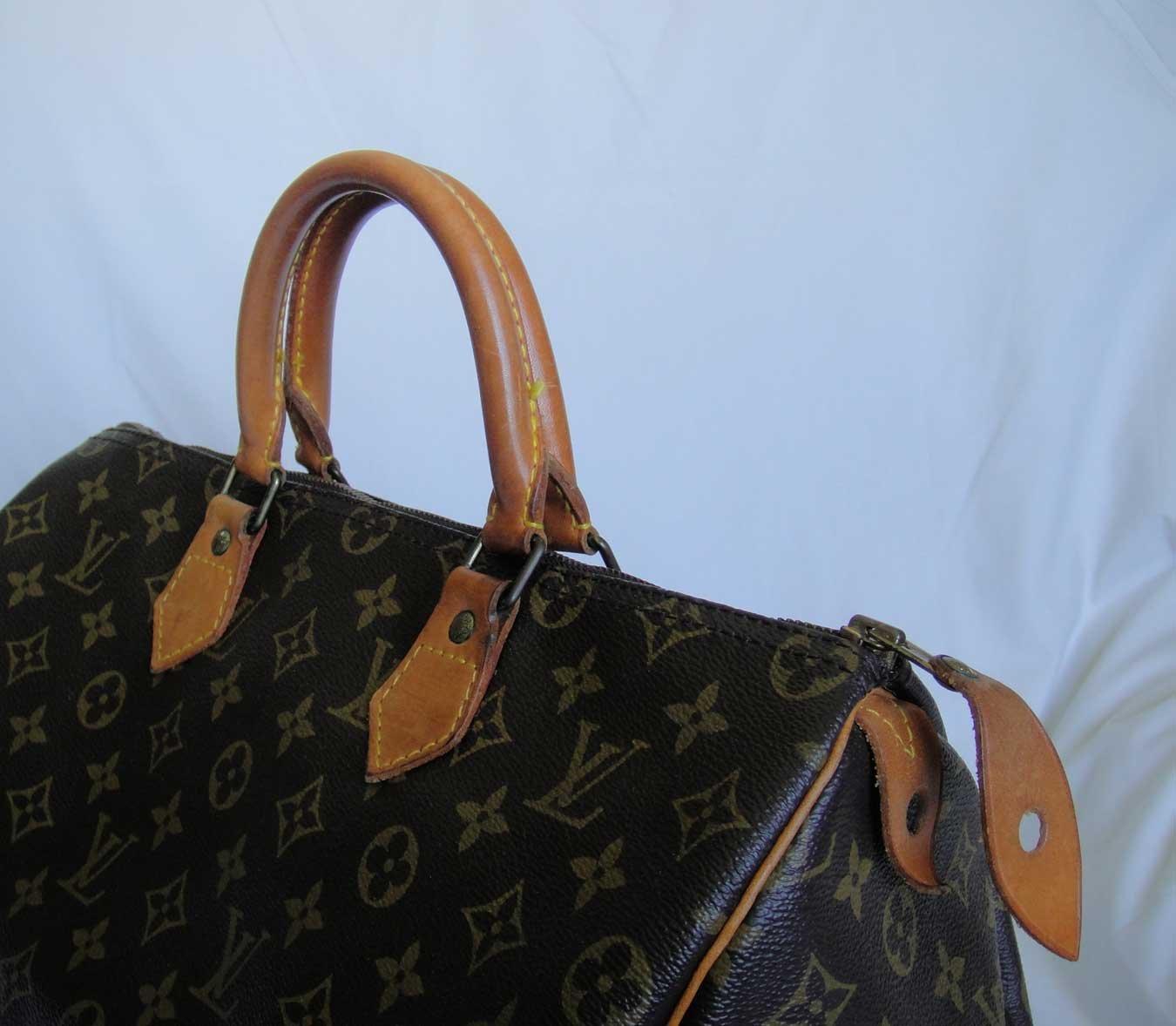 AUTHENTIC Pre Owned Louis Vuitton monogram SPEEDY 35