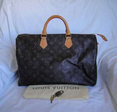 AUTHENTIC Pre Owned Louis Vuitton Monogram SPEEDY 40