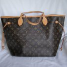 AUTHENTIC Pre Owned Louis Vuitton Monogram Neverfull MM