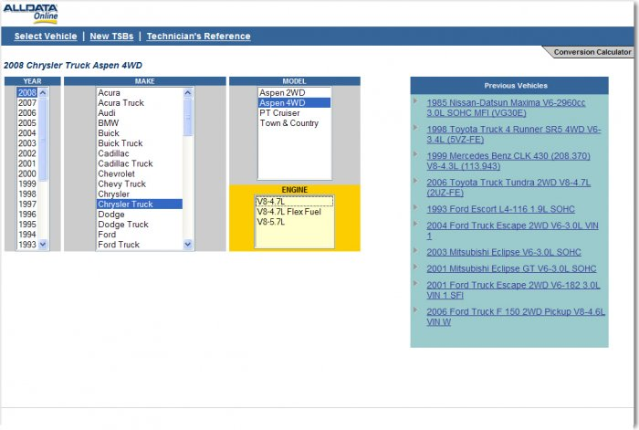 Alldatapro Com Login >> Temporary Access to ALLDATAPRO