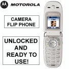 MOTOROLA® TRI-BAND GSM MOBILE PHONE