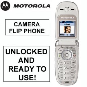 MOTOROLA® TRI-BAND GSM MOBILE PHONE