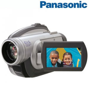 PANASONIC® COMPACT DVD PALMCORDER CAMCORDER