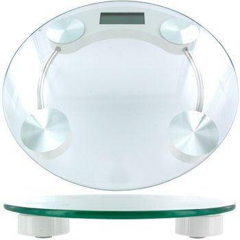 HDC DIGITAL GLASS BATH SCALE
