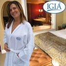 IGIA® LUXURIOUS WAFFLE-WEAVE COTTON ROBE