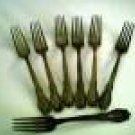 GS Oakland 1910 Silverplate Forks