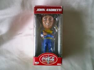 John Andretti Bobble Head