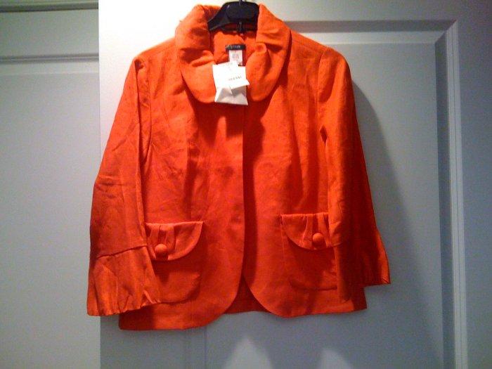 J Crew Solid Tulip jacket - NWT sz. 6
