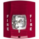 SecureGuard AC Powered Fire Alarm Strobe Light Battery Operated Nanny Camera
