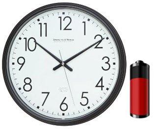 SecureGuard Battery Powered Wall Clock Battery Powered Nanny Cam