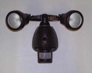 SecureGuard AC Powered Flood light Spy Camera Outdoor Nanny cam