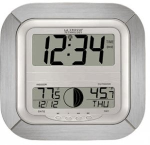 SecureGuard AC Powered Atomic Wall Clock Spy Camera