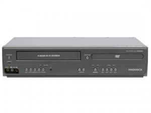 SecureGuard AC Powered DVD player VHS Combo Spy Camera