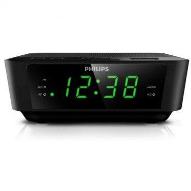 SecureGuard HD 720p Philips Alarm Clock Radio Spy Camera Covert Hidden Nanny Camera Spy Gadget