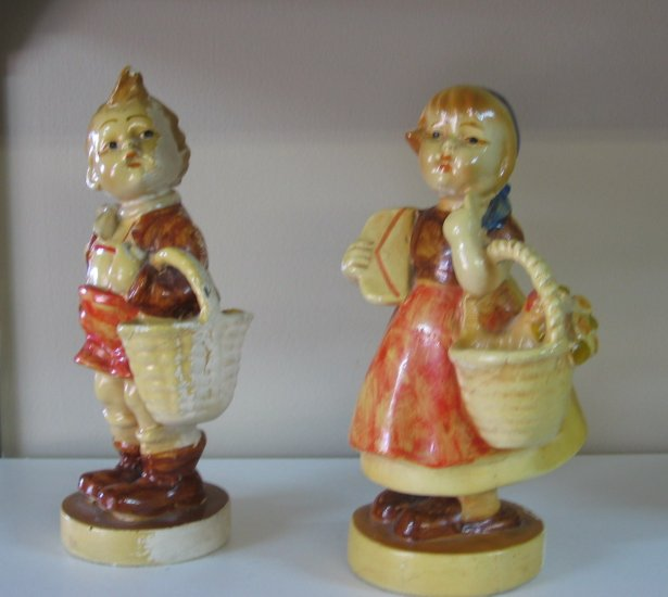 Vintage Chalkware