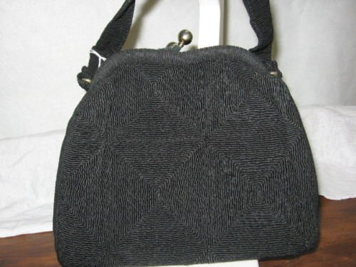 Diamond Weaved Purse