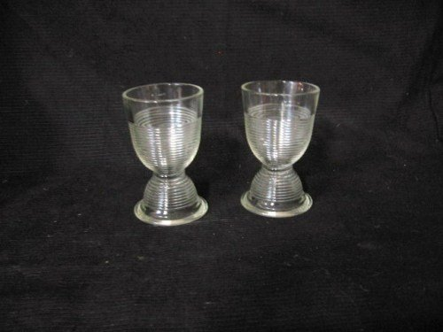 Art Deco Cylinder Glasses