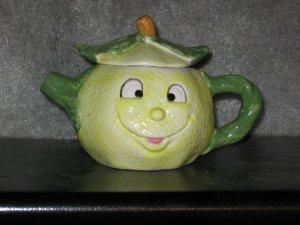 Comical Lemon Head Teapot