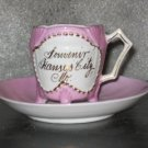 Kansas City Souvenir Footed Cup w/Saucer